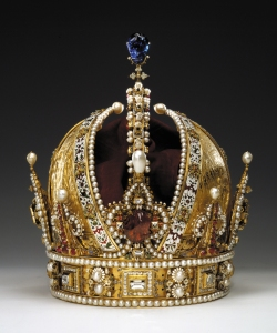 The crown of the Austrian Empire. Photo: Kunsthistorisches Museum Vienna