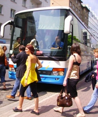 charter bus rental in Vienna for transfers, sightseeing tours and excursions