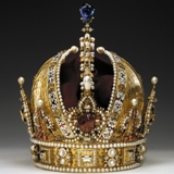 Crown of Emperor Rudolph II in the Vienna treasury museum. Photo: Museum of history of art, Vienna.
